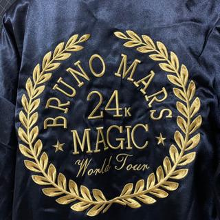 また値下げしました!Bruno Mars ブルーノマーズ ツアーグッズ 限定 来日記念 ボクサーガウン 羽織 ローブ ポリエステル100% S 黒 - 服/ファッション