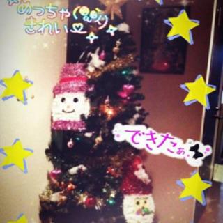 明日の午後以降引き取り限定!無料です^^クリスマスツリーとオーナ...