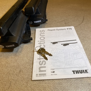Thule 775 Rapid system Foot ラピッド...