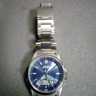 [カシオ]CASIO 腕時計 ウェーブセプター 電波ソーラ…