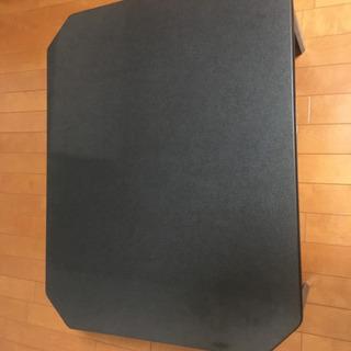 リビングテーブル 中古 黒 折り畳み