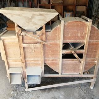 唐箕(とうみ)選別機 木製中古 売却