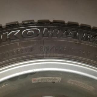 ヨコハマタイヤスタッドレス GEOLANDAR 215/65/16  4本 ホイールセット - 車のパーツ
