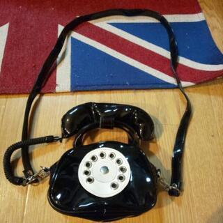 ☎️黒電話型のショルダーバック