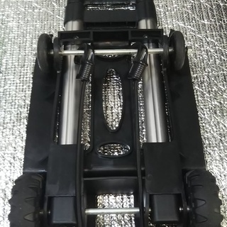 【売ります】折り畳み式4輪キャリーカート オマケ付 − 大阪府