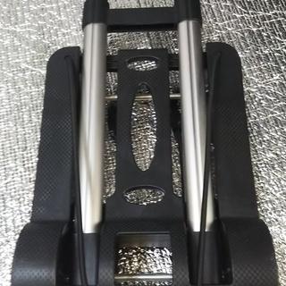 【売ります】折り畳み式4輪キャリーカート オマケ付 - その他