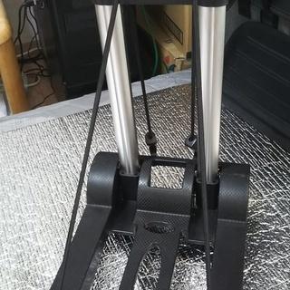 【売ります】折り畳み式4輪キャリーカート オマケ付 - 大阪市