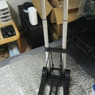 【売ります】折り畳み式4輪キャリーカート オマケ付
