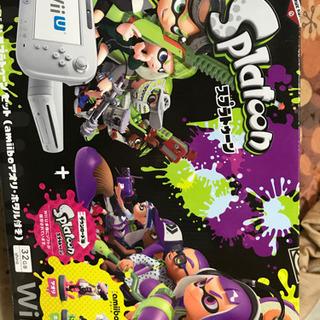 Wii Uスプラトゥーン同梱版 中古