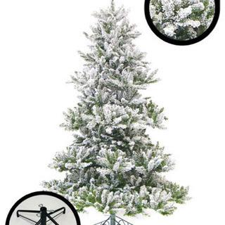 【新中古】 スノークリスマスツリー 210cm 昨年一回のみ使用