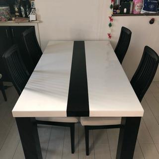ダイニングテーブル 椅子4点セット