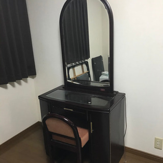 鏡台 椅子付き ドレッサー