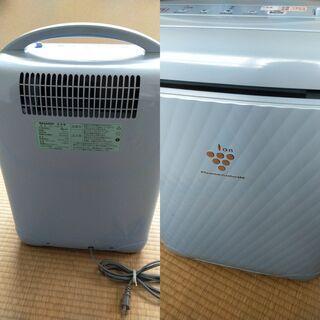 シャープの冷風・衣類乾燥除湿機