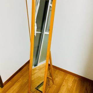 折り畳み式スタンドミラー