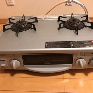 中古 リンナイ ガスコンロ RTS-338WNTS-L