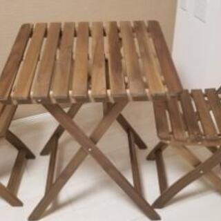 IKEA テーブルセット