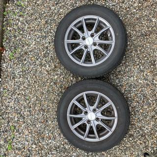 175/65/R14 スタッドレスタイヤ+アルミホイール 4本セット