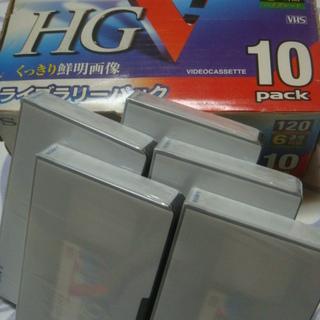 VHSビデオテープ新品未開封11本