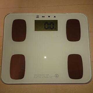 OHM製、体重体組成計、体重計