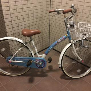 女児用自転車(マルキン)24インチ