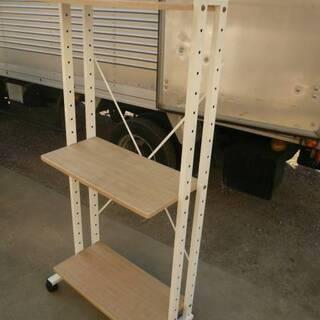 飾り棚 ラック PCデスク キッチン家具 多用途可能 - 家具