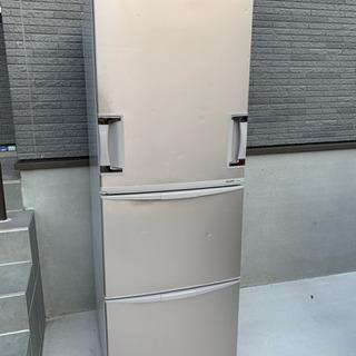 SHARP 両開き3ドア 冷蔵庫 345Lの画像