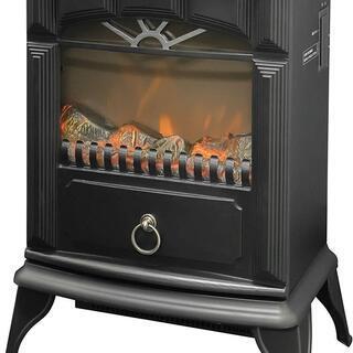 【新品】 暖炉型ヒーター 疑似炎 照度調整機能付き