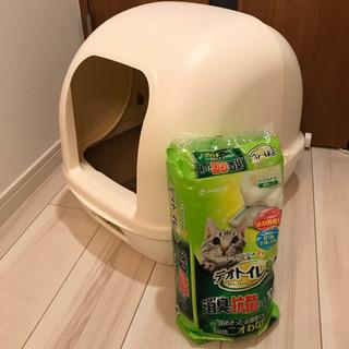 ユニチャーム デオトイレとデオシートのセット(猫用)