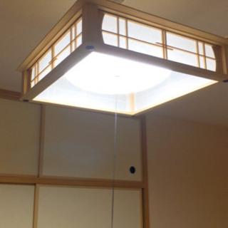 値下げ!【11/23AM受取限定】タキズミ 和室LED照明の画像
