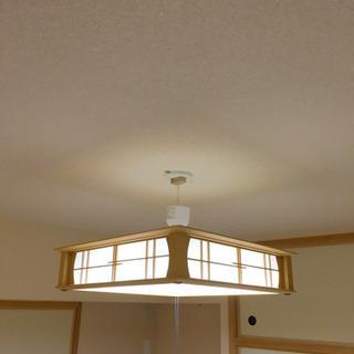 値下げ!【11/23AM受取限定】タキズミ 和室LED照明 - 寝屋川市