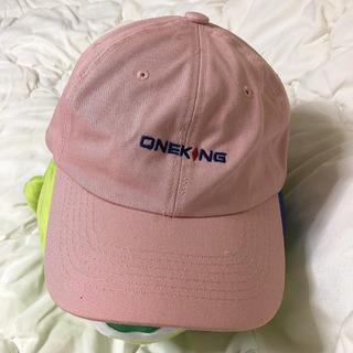 ピンク キャップ