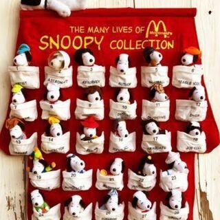 マクドナルド&スヌーピーのコラボ商品