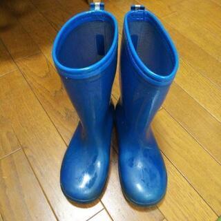 長靴   ブルー  21.0EEcm