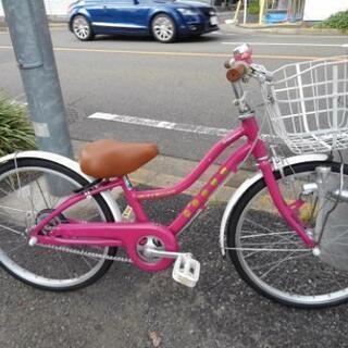 中古子供自転車772 前後タイヤ交換!ブリヂストン ワイルドベリ...