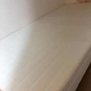 シングル ベッド 美品 ホワイト