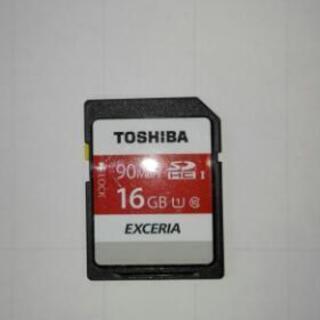 TOSHIBA -SD カ―ド16GB