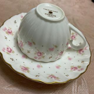 ブランド食器  ピンクの小花柄