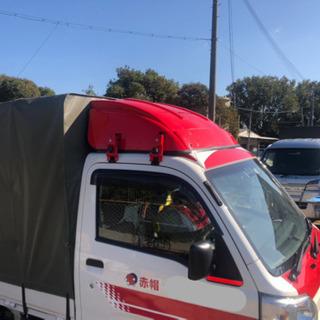 サンバー用風防→ ハイゼットトラックへの取付け金具