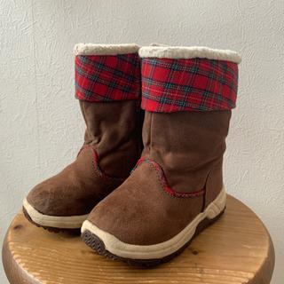 【16cm】スパイク付き冬用ブーツ