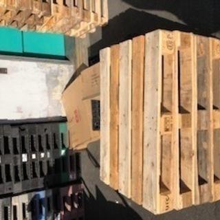 海外製 木製パレット(無料)