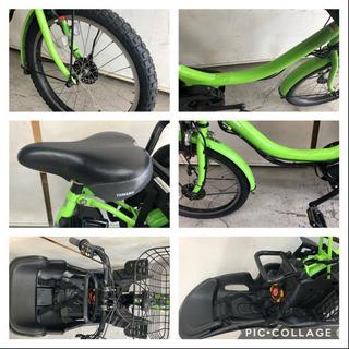 ヤマハ パスバビー 20インチ 3人乗り 8.7ah 高年式 電動自転車 電動アシスト - 自転車