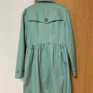 緑のトレンチコート - 服/ファッション