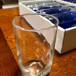 ガラス コップ 未使用品