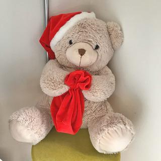 トイザらス クリスマス サンタ ベア くま ぬいぐるみ