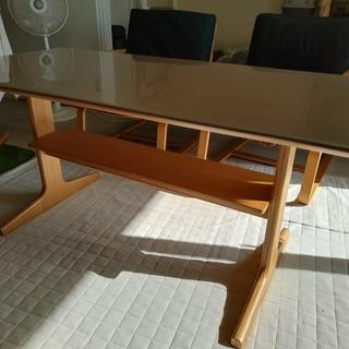 MUJI 無印良品 リビングでもダイニングでもつかえるテーブル+...