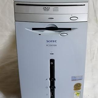 ディスクトップパソコン SOTEC PC  STATION S2...
