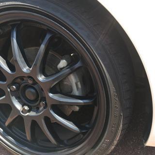タイヤ、ホイール中古4本セット 軽四のアップグレードに!