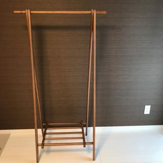 木製折畳みハンガーラック