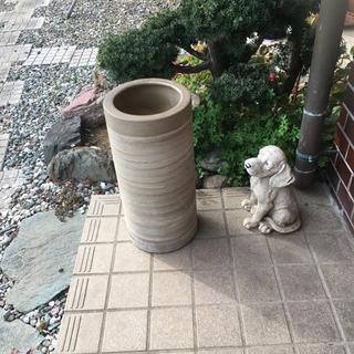 陶器製 傘立て 水抜き穴あり