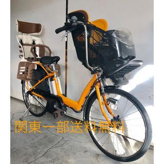 ヤマハ リトルモア 3人乗り 8.9ah デジタル 電動自転車